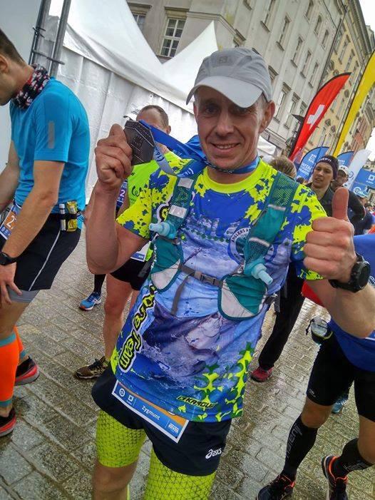 Zrobił to… Zyga został maratończykiem…